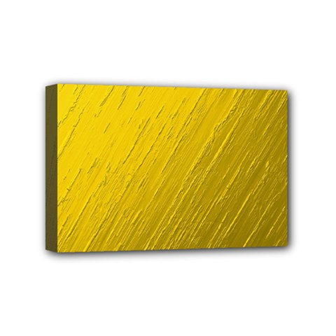 Golden Texture Rough Canvas Golden Mini Canvas 6  X 4