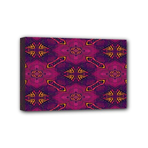 Pattern Decoration Art Abstract Mini Canvas 6  X 4
