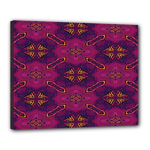 Pattern Decoration Art Abstract Canvas 20  X 16