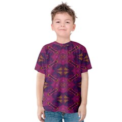 Pattern Decoration Art Abstract Kids  Cotton Tee