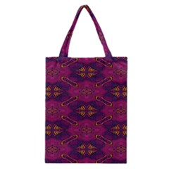 Pattern Decoration Art Abstract Classic Tote Bag