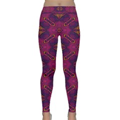 Pattern Decoration Art Abstract Classic Yoga Leggings