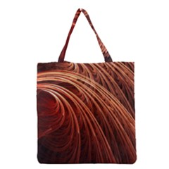 Abstract Fractal Digital Art Grocery Tote Bag