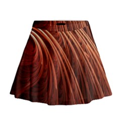 Abstract Fractal Digital Art Mini Flare Skirt