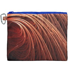 Abstract Fractal Digital Art Canvas Cosmetic Bag (xxxl)