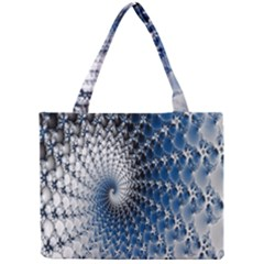 Mandelbrot Fractal Abstract Ice Mini Tote Bag