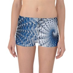 Mandelbrot Fractal Abstract Ice Reversible Boyleg Bikini Bottoms