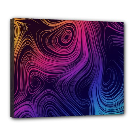 Abstract Pattern Art Wallpaper Deluxe Canvas 24  X 20