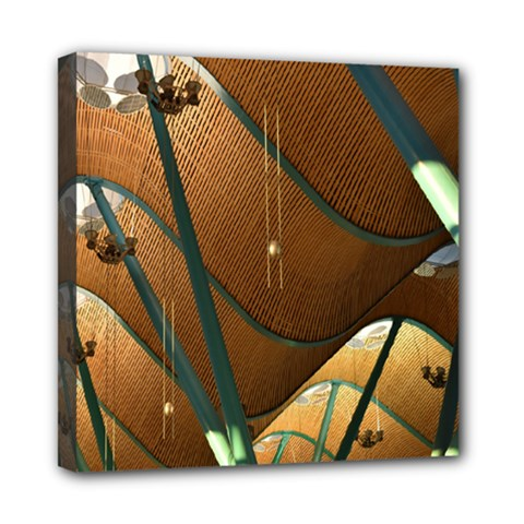 Airport Pattern Shape Abstract Multi Function Bag by Nexatart