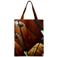 Airport Pattern Shape Abstract Zipper Classic Tote Bag