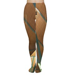 Airport Pattern Shape Abstract Women s Tights