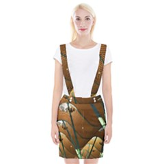 Airport Pattern Shape Abstract Braces Suspender Skirt