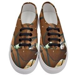 Airport Pattern Shape Abstract Women s Classic Low Top Sneakers