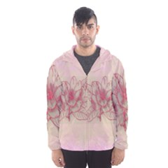 Desktop Background Abstract Hooded Wind Breaker (men)