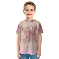 Desktop Background Abstract Kids  Sport Mesh Tee