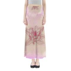 Desktop Background Abstract Full Length Maxi Skirt