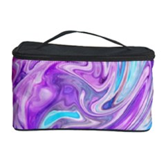 Abstract Art Texture Form Pattern Cosmetic Storage Case