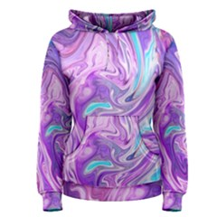 Abstract Art Texture Form Pattern Women s Pullover Hoodie