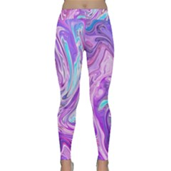 Abstract Art Texture Form Pattern Classic Yoga Leggings