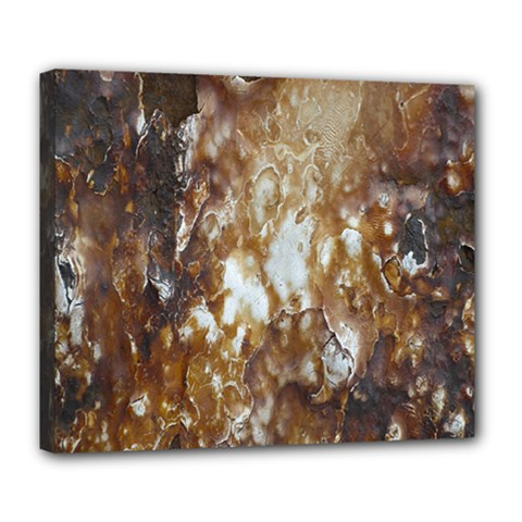 Rusty Texture Pattern Daniel Deluxe Canvas 24  X 20