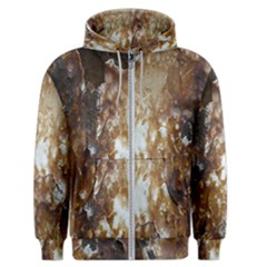 Rusty Texture Pattern Daniel Men s Zipper Hoodie