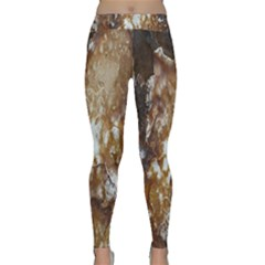 Rusty Texture Pattern Daniel Classic Yoga Leggings