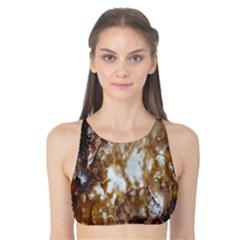 Rusty Texture Pattern Daniel Tank Bikini Top