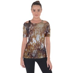 Rusty Texture Pattern Daniel Short Sleeve Top