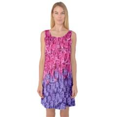 Wool Knitting Stitches Thread Yarn Sleeveless Satin Nightdress