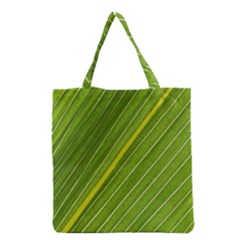 Leaf Plant Nature Pattern Grocery Tote Bag by Nexatart