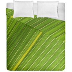 Leaf Plant Nature Pattern Duvet Cover Double Side (california King Size)