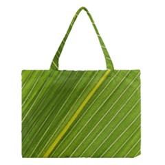 Leaf Plant Nature Pattern Medium Tote Bag
