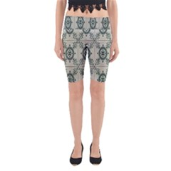 Jugendstil Yoga Cropped Leggings
