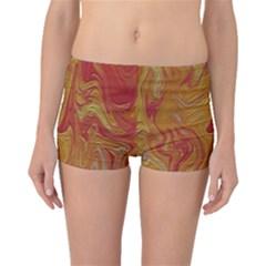 Texture Pattern Abstract Art Boyleg Bikini Bottoms