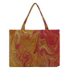 Texture Pattern Abstract Art Medium Tote Bag