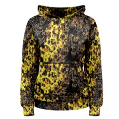 The Background Wallpaper Gold Women s Pullover Hoodie