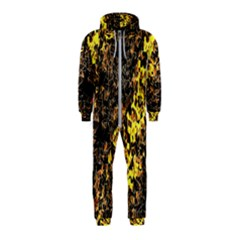 The Background Wallpaper Gold Hooded Jumpsuit (kids)