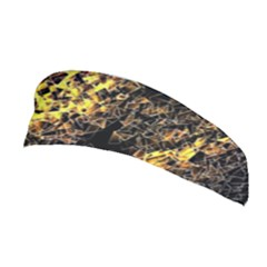 The Background Wallpaper Gold Stretchable Headband