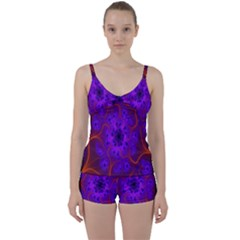 Fractal Mandelbrot Julia Lot Tie Front Two Piece Tankini