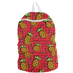 Fruit Pineapple Red Yellow Green Foldable Lightweight Backpack by Alisyart