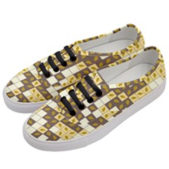 Autumn Leaves Pattern Women s Classic Low Top Sneakers by linceazul