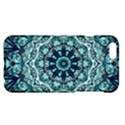 Green Blue Black Mandala  Psychedelic Pattern Apple iPhone 6 Plus/6S Plus Hardshell Case View1