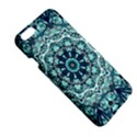 Green Blue Black Mandala  Psychedelic Pattern Apple iPhone 6 Plus/6S Plus Hardshell Case View5