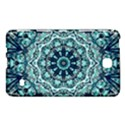 Green Blue Black Mandala  Psychedelic Pattern Samsung Galaxy Tab 4 (7 ) Hardshell Case  View1