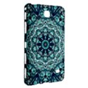 Green Blue Black Mandala  Psychedelic Pattern Samsung Galaxy Tab 4 (7 ) Hardshell Case  View3