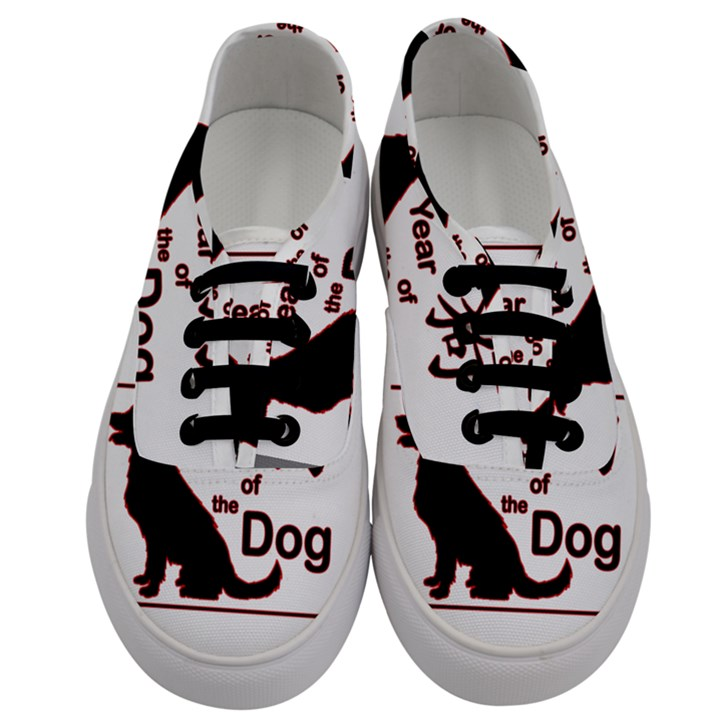 Year of the Dog - Chinese New Year Men s Classic Low Top Sneakers