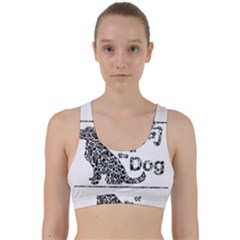 Year Of The Dog   Chinese New Year Back Weave Sports Bra