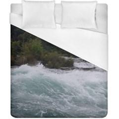 Sightseeing At Niagara Falls Duvet Cover (california King Size)