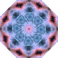Sacred Geometry Mandelbrot Fractal Hook Handle Umbrellas (large) by Onesevenart