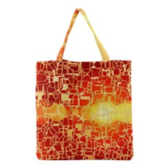 Board Conductors Circuits Grocery Tote Bag by Onesevenart